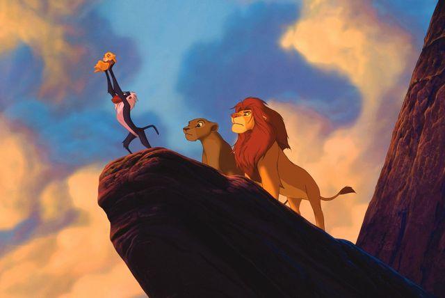 """Kadar iz crtića \""""Kralj lavova\"""""""