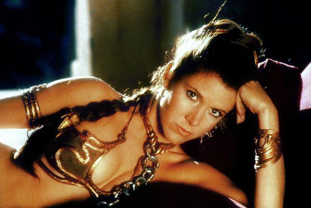 Carrie Fisher u filmu Ratovi zvijezda VI: Povratak Jedija - 3