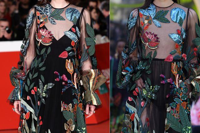 Slavne glumice i modeli u istim haljinama - 1