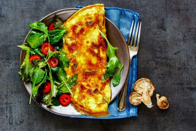 Omlet je jeftin i fin obrok pun bjelančevina