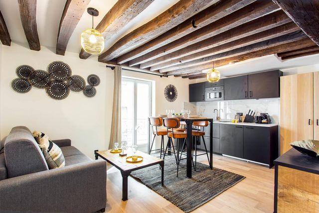 Stan u Parizu od 40 kvadrata s Boooking.com-a - 2