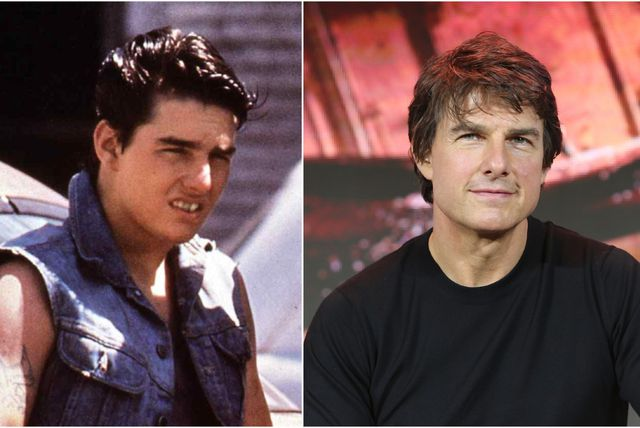 Tom Cruise nekad i sad