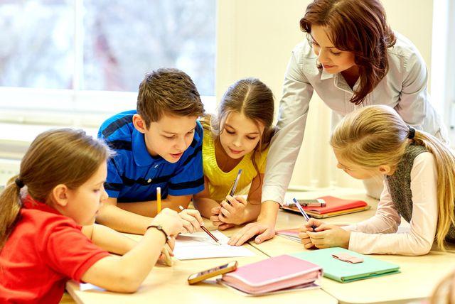 Učiteljica i djeca