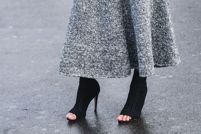 Pletene suknje hit su jeseni
