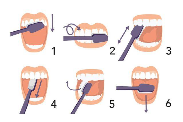 Kratki vodič tehnike četkanja zubi