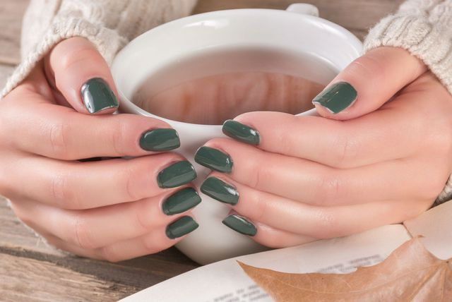 Zeleni lak za nokte bit će popularan ovu jesen