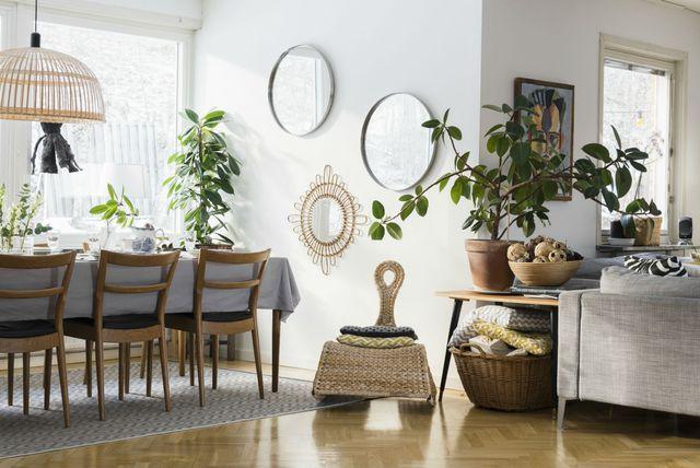 Zidno zrcalo može transformirati dom