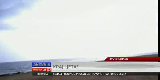 Kraj ljeta, ali bit će još ljetnih dana (Video: Dnevnik Nove TV)