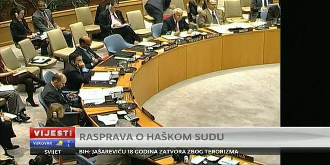 Iz VIJESTI u 17h: Rasprava o Haškom sudu