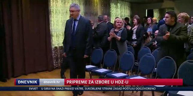 Pripreme za izbore u HDZ-u (Video: Dnevnik Nove TV)