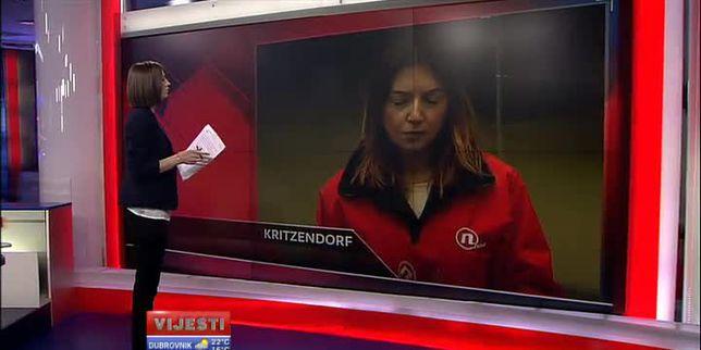 Reporterka Ivana Ivanda javlja se s poplavljenih područja (Video: Vijesti u 17 Nove TV)