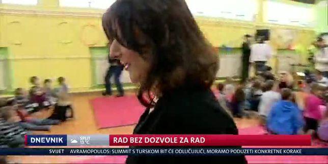 Rad bez dozvole za rad (Video: Dnevnik Nove TV)