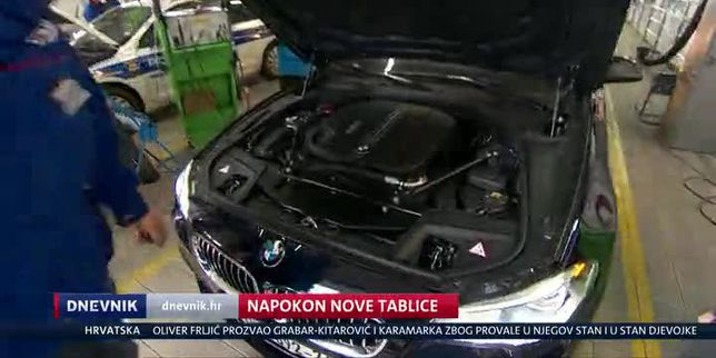 Napokon nove tablice (Video: Dnevnik Nove TV)