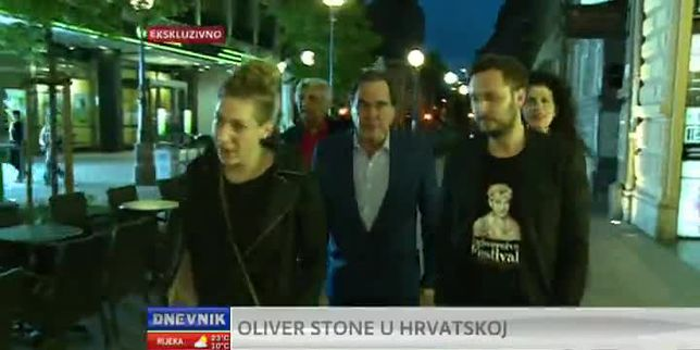 Intervju s Oliverom Stoneom (VIDEO: Dnevnik Nove TV)