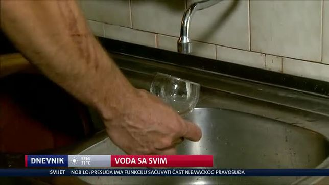 Problem vode u Čabru (Video: Dnevnik Nove TV)