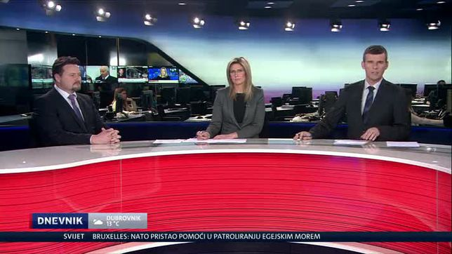 Lovro Kuščević, gost u Dnevniku (Video: Dnevnik Nove TV)