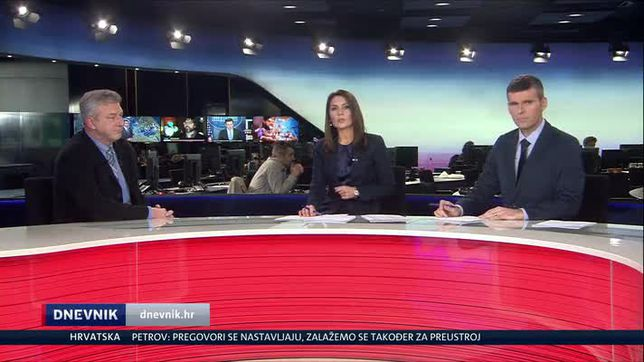Ranko Ostojić bio je gost u Dnevniku Nove TV (Video: Dnevnik Nove TV)