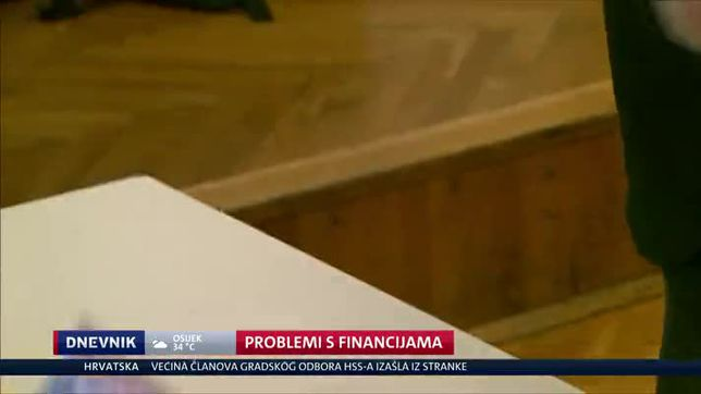 Problemi s financijama (Video: Dnevnik Nove TV)