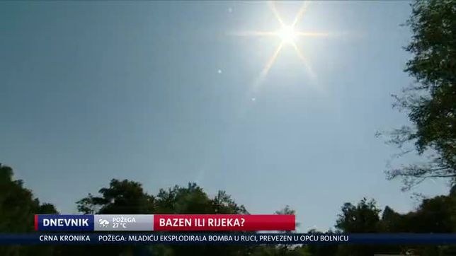 Bazen ili rijeka? (Video: Dnevnik Nove TV)