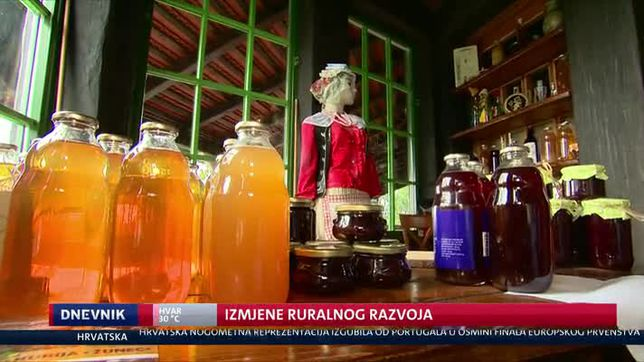 Izmjene ruralnog razvoja (Video: Dnevnik Nove TV)