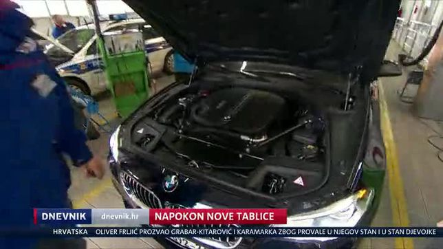 Napokon nove tablice (Video: Dnevnik Nove TV)