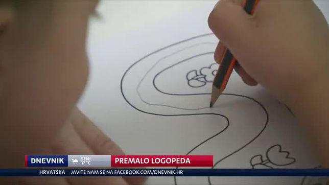 Premalo logopeda (Video: Dnevnik Nove TV)