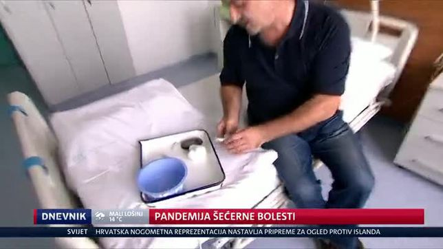 Pandemija šećerne bolesti (Video: Dnevnik Nove TV)