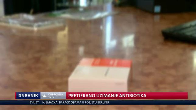 Pretjerano uzimanje antibiotika (Video: Dnevnik Nove TV)