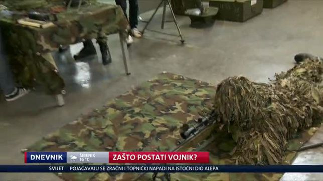 Zašto postati vojnik? (Video: Dnevnik Nove TV)