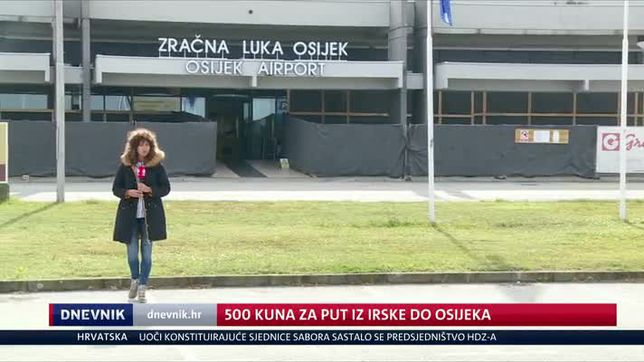 500 kn za put iz Irske do Osijeka (Video: Dnevnik Nove TV)
