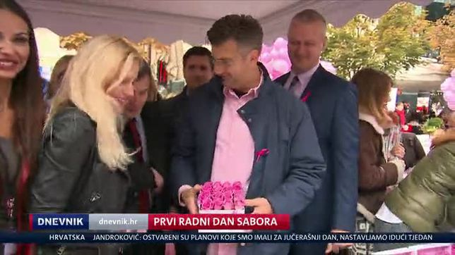Prvi radni dan Sabora (Video: Dnevnik Nove TV)