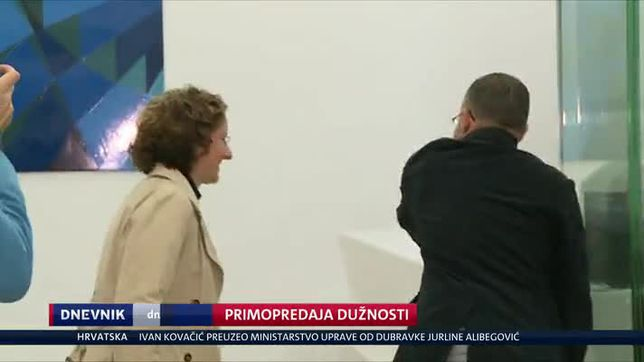 Primopredaja dužnosti (Video: Dnevnik Nove TV)