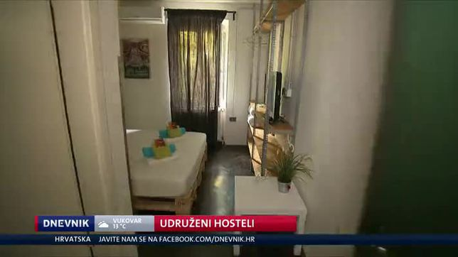 Udruženi hosteli (Video: Dnevnik Nove TV)