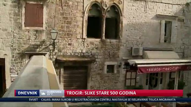 Trogir: slike stare 500 godina (Video: Dnevnik Nove TV)