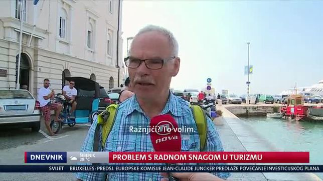 Problem s radnom snagom u turizmu (Video: Dnevnik Nove TV)