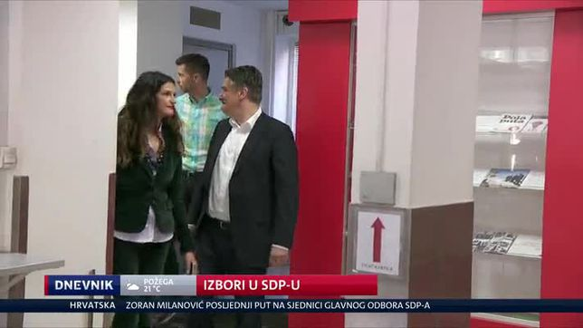 Izbori u SDP-u (Video: Dnevnik Nove TV)