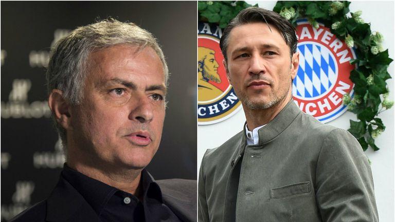 Jose Mourinho i Niko Kovač