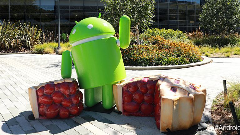 Android Pie (Foto: Google Twitter)
