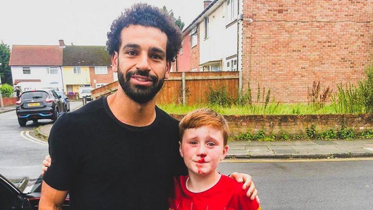 Mohamed Salah i Louis Fowler