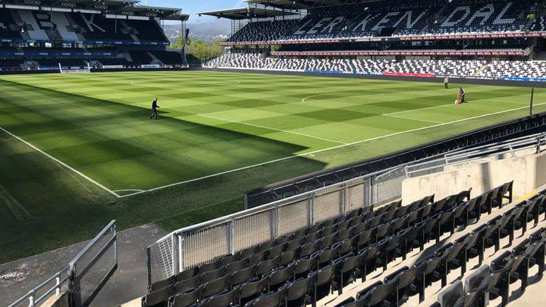 Lerkendal, stadion Rosenborga