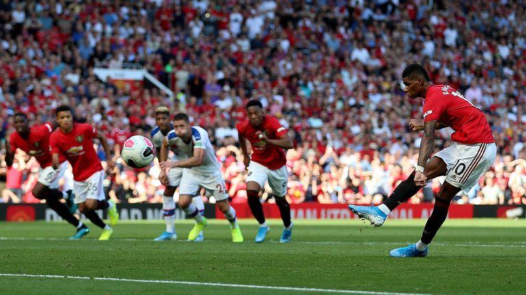 Rashford promašio penal protiv Crystal Palacea