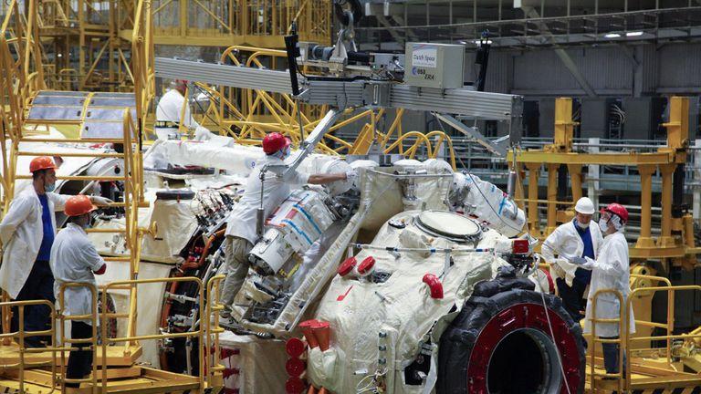 Izgrandja ruskog modula za ISS