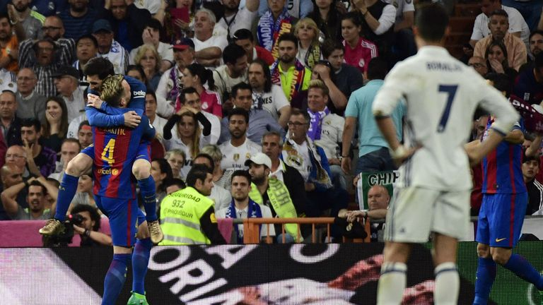 Lionel Messi, Ivan Rakitić i Cristiano Ronaldo