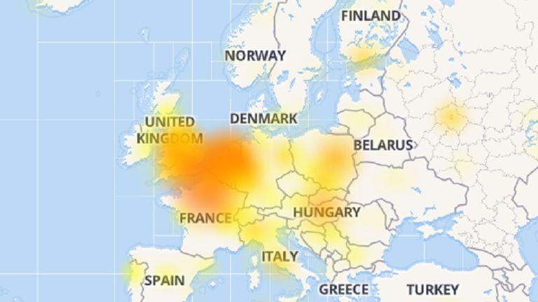 Problemi s Facebookom (Foto: Screenshot)