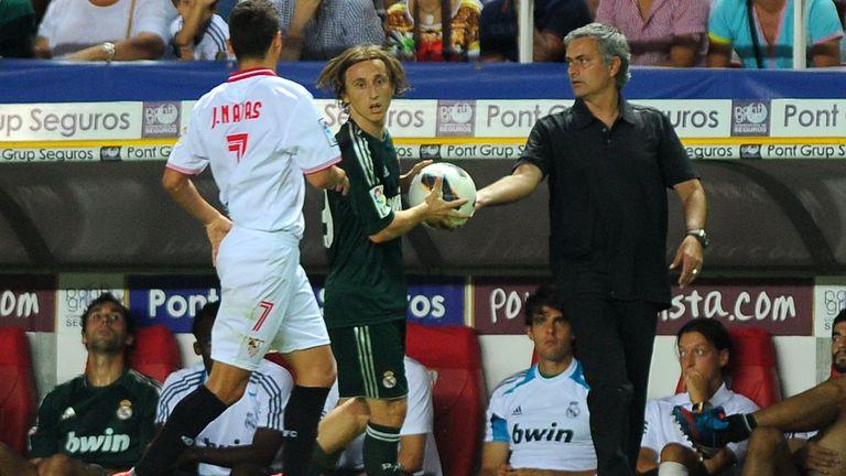 Luka Modrić i Jose Mourinho