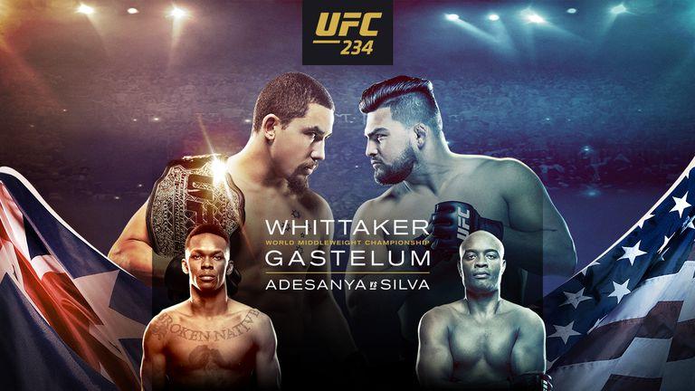 UFC 234: UFC 234: Israel Adesanya Pobijedio Andersona Silvu