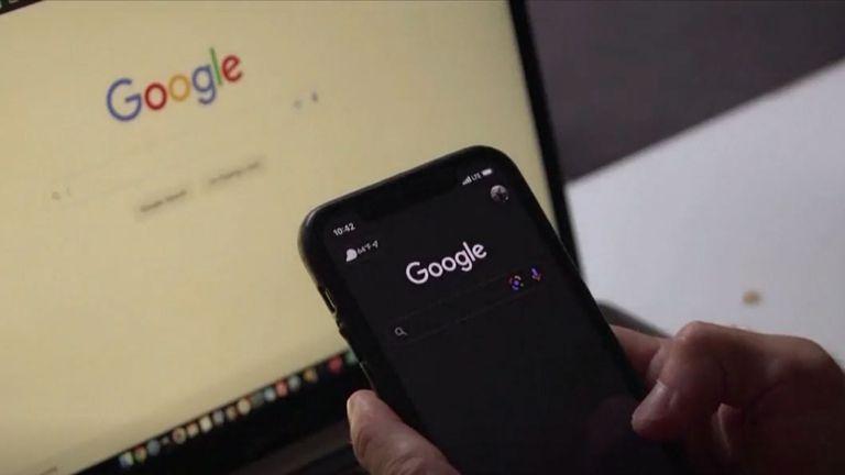 Korištenje Googla