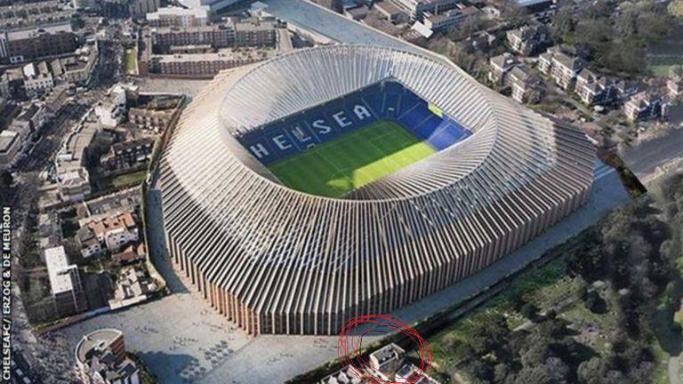 Stamford Bridge i nekretnina obitelji