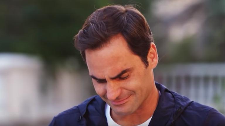 Federer plače nakon pitanja o treneru