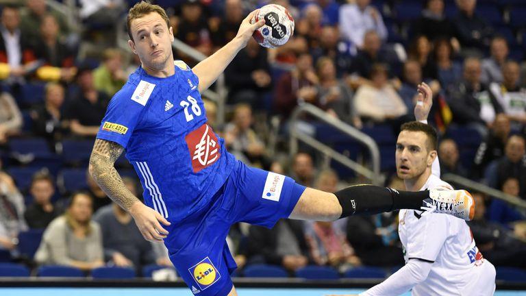 Valentin Porte puca po golu protiv Srbije